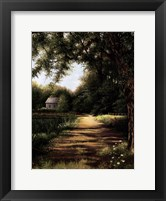 Framed Pond House