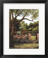 Framed Stone Wall