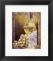 Grapes And Chenin Blanc Framed Print