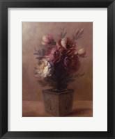 Framed Juliet's Bouquet I