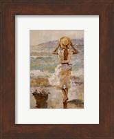 Framed Seaside Summer I