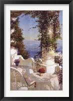 Framed Positano Seascape