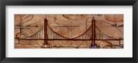 Modern Bridge One Framed Print