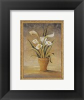 Symphony In White III Framed Print