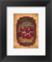 Framed Sweet Cherry Pie Filling
