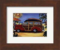 Framed Red Woody