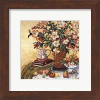 Framed Asian Lilies