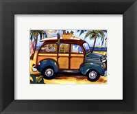 Green Woody Framed Print