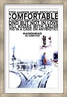 Framed Radiohead - Ok Computer