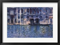 Framed Venice Palazza Da Mula