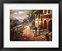 Framed Seaside Terrace