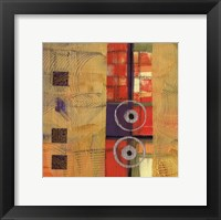 Abstract Story II Framed Print