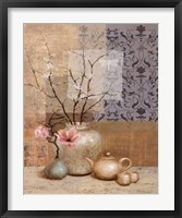 Asian Still Life II Framed Print