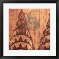 New York Chrysler Building I Framed Print