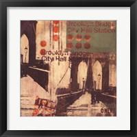 Brooklyn II Framed Print