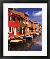 Burano I Framed Print
