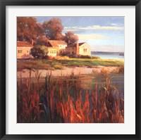 Harbor Home I Framed Print