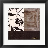 Cosmopolitan Tile III Framed Print