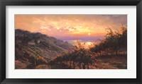 Framed Tuscany Reflections
