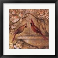 Framed Elegance In Red II