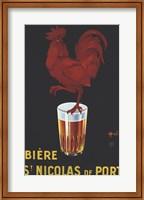 Framed Biere St. Nicolas De Port