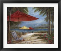 Framed Relaxing Paradise I
