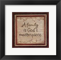 Framed Family is God's Masterpiece