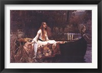 Framed Lady of Shalott, c.1888