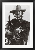 Framed Clint Eastwood