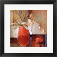 Afternoon Bamboo Leaves II Framed Print