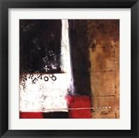 Red Contemporary IV Framed Print