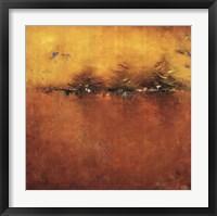 Framed Orange Sunset