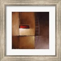 Framed Chocolate Square III