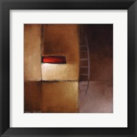 Framed Chocolate Square III