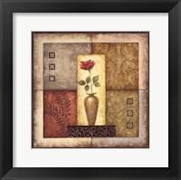 Simple Flower I Framed Print