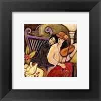 Heartstrings II Framed Print