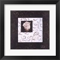 Framed Ornaments And Rose I