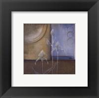 Inspiration In Blue I Framed Print
