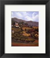 Framed Italian Countryside I