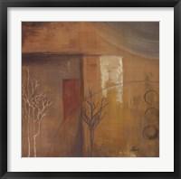 Framed Inspiration In Ochre VI