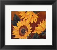 Framed Sunflowers II