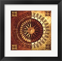 Framed Sun Wheels I