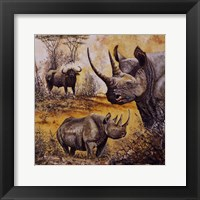 Framed Safari I
