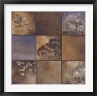 Spa Collection I Framed Print