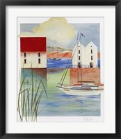Framed Village By The Bay III
