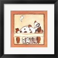Framed Puppy Love IV