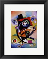 Framed Homage to Kandinsky