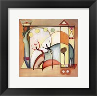 Fun in the Sun VIII Framed Print