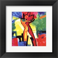Framed Technicolor Love I