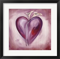 Framed Shades of Love - Lavender